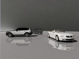 BMW SUV and Convertible 3d preview