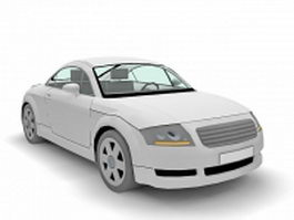 Audi Coupe 3d preview