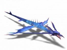 Bragon creature 3d model preview