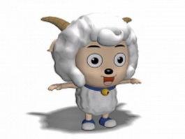 Cartoon goat 3d preview