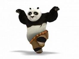 Kung Fu Panda Dragon Warrior 3d model preview