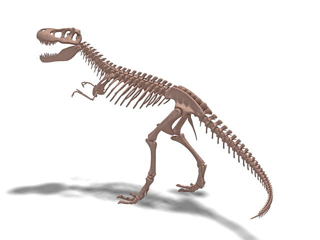 tyrannosaurus skeleton 3d model 3ds max files free 26412