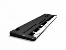 Electric piano 3d preview
