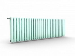 Central heating radiators 3d model preview