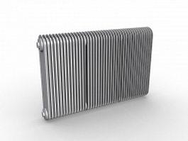 Convection radiators 3d preview
