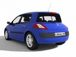 Renault Megane 5-door 3d preview