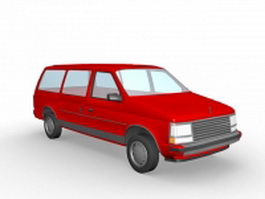 Dodge Station Wagon 3d preview