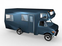 Camper van 3d preview
