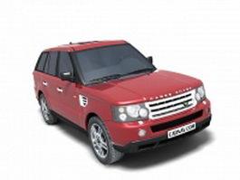 Range Rover Evoque 3d preview