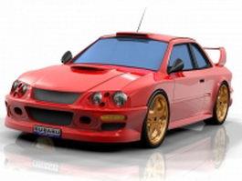 Subaru BRZ Concept 3d preview