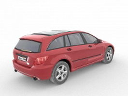 Mercedes station wagon 3d preview