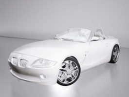 BMW Z4 (E89) convertible 3d preview