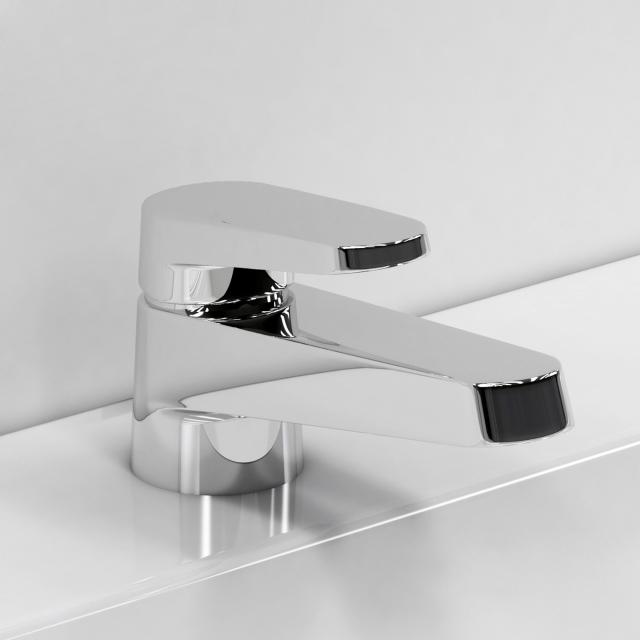 Single handle basin faucet 3d rendering