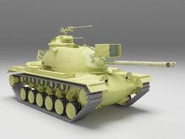 M48 Patton Tank 3d model preview