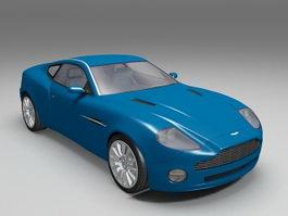Aston Martin Vanquish 3d preview