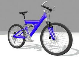 BMX bike sport bicycle 3d preview