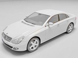 Mercedes CLS 500 3d model preview