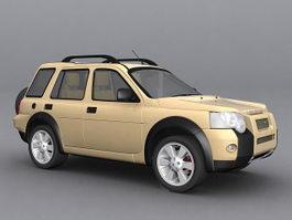 Land Rover Freelander 3d preview