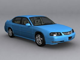 2003 Chevrolet Impala LS 3d preview