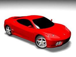 Ferrari 360 Modena 3d model preview