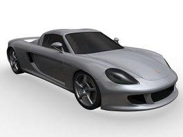 Porsche Carrera GT 3d model preview
