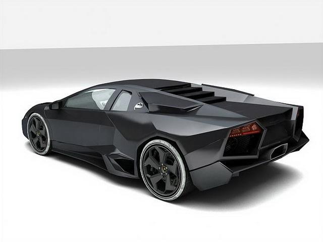 Lamborghini reventon 3d rendering