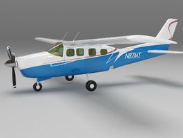 Small plane 3d preview
