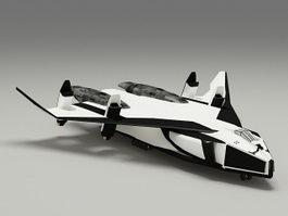 Avatar Space Shuttle 3d preview