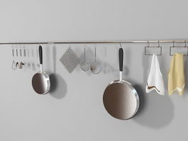 Kitchen Utensils Set 3d preview