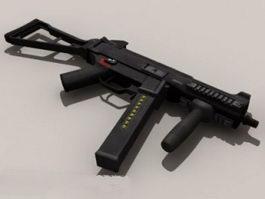 Heckler & Koch UMP 3d model preview