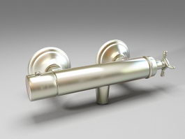 Thermostatic Shower Mixer 3d preview
