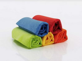 Bathroom hand towels 3d preview