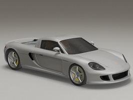 Porsche Carrera GT Car 3d preview