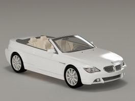 BMW M3 Convertible 3d model preview
