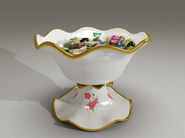 Candy dishes bowl 3d preview