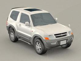 Mitsubishi Pajero 3d preview