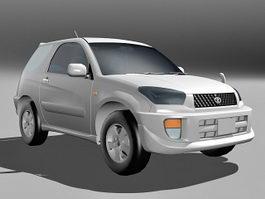 Toyota RAV4 SUV 3d preview