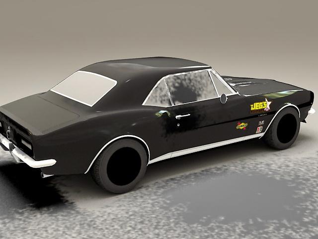 Chevrolet Camaro SS 3d rendering
