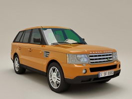 Range Rover Sport 3d preview