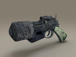 DMC Devil May Cry Weapon 3d model preview
