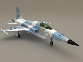Northrop F-5E F Tiger II Fighter 3d preview