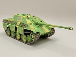 German Jagdpanther Tank Destroyer 3d model preview