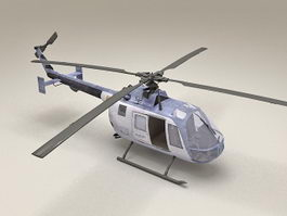 Light Utility Helicopter 3d preview
