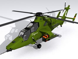 Eurocopter Tiger Attack Helicopter 3d preview