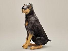Doberman Pinscher Dog 3d preview
