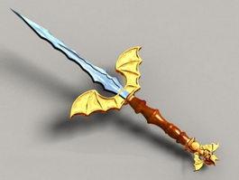 Demon Dagger 3d model preview