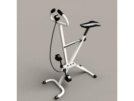 Foldable Exercise Bike 3d preview