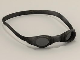 Swimming goggles 3d preview