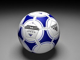Adidas Soccer Ball 3d preview