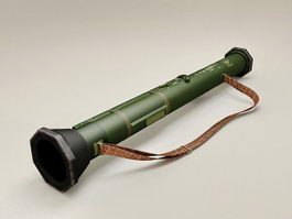 RPG Rocket Launcher 3d model preview